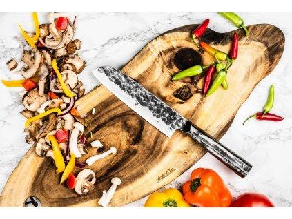 Kés Santoku Forged Brute 18 cm