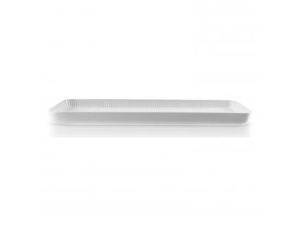 LEGIO NOVA tálalótál, fehér, 37 x 13 cm