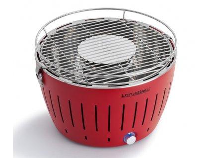 Füstmentes grillsütő LotusGrill piros