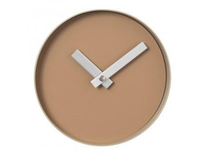 RIM fali óra, kicsi világos barna