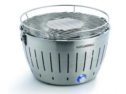 Füstmentes grillsütő LotusGrill rozsdamentes acél