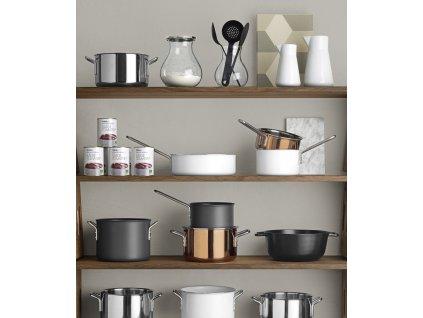 Rozsdamentes acél edény közepes 3,6 l Multi