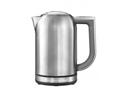 Vízforraló, 1,7 liter, acélszínű, KitchenAid