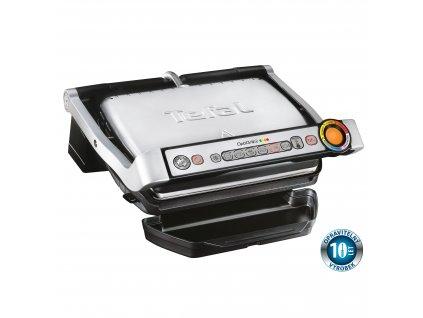 Elektromos grill Optigrill+ INOX EE GC712D34 Tefal