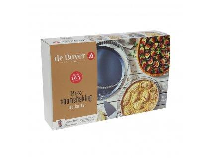 Házi sütő készlet - kalács de Buyer 4 db