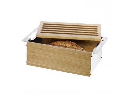 Bambusz kenyértartó, 43 x 25 cm