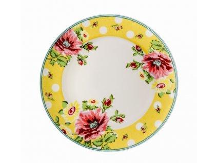 Lapos tányér Springtime Flowers Sun Rosenthal 22 cm