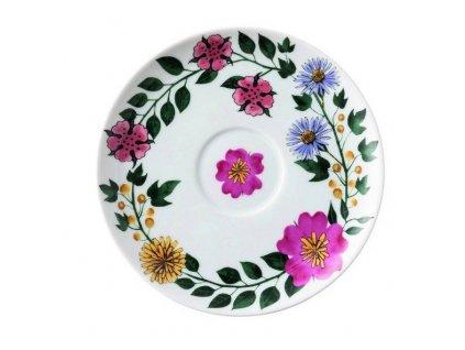 Cappuccino csésze alátét Magic Garden Blossom Rosenthal 16 cm