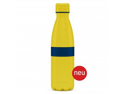 Palack TWEE+ Boddels sárga/éjszakai kék 500 ml