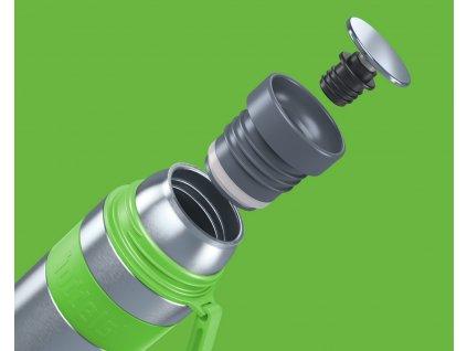 Vákuumos termo palack Heet Boddels alma zöld 700 ml