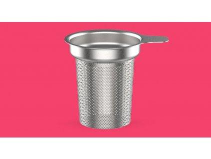 Teás pohár Seev Boddels málna 380 ml