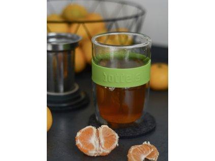 Teás pohár Seev Boddels zöld 380 ml