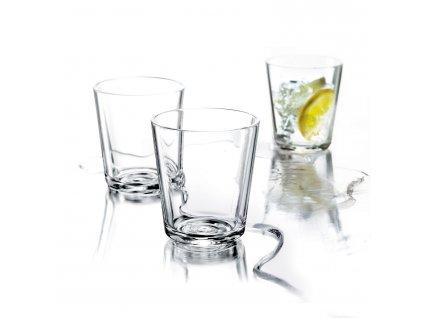 Üvegpohár készlet, 0,25 l, 6 db
