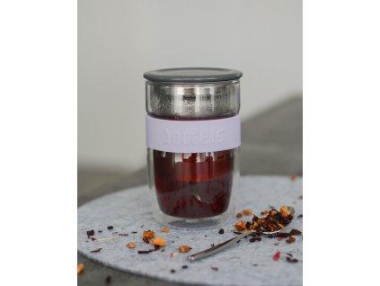 Teás pohár Seev Boddels levendula 380 ml