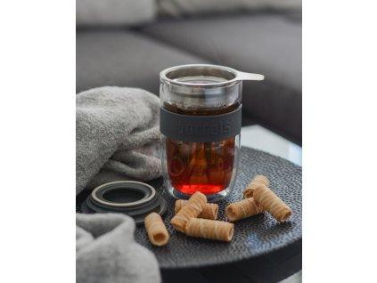 Teás pohár Seev Boddels levandula 380 ml