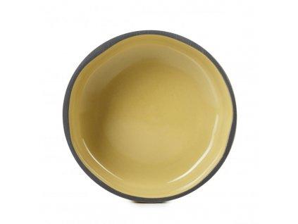 Tálka Caractere Revol mustár 11 cm
