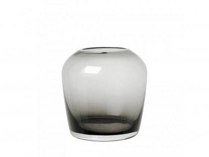 Váza Leta Blomus nagy füstös 15 cm
