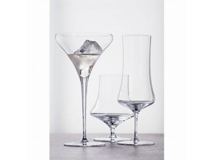 Willsberger Anniversary martinis kristálypohár szett, 4 db