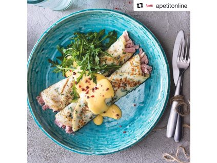 Lapostányér Turquoise 28 cm