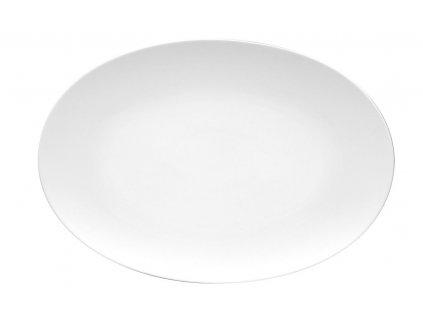 Ovális tányér Tac fehér 38 x 26 cm Rosenthal