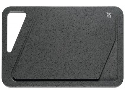 Vágódeszka, sötétszürke, 38 x 25 cm