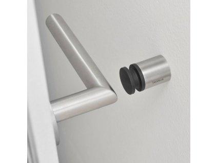 ENTRA falra szerelhető ajtóütköző, 4 cm