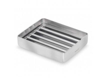 NEXIO szappantartó, matt rozsdamentes acél