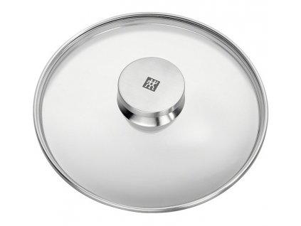 TWIN® Specials üvegfedő, rozsdamentes acél fogantyúval, Ø 28 cm