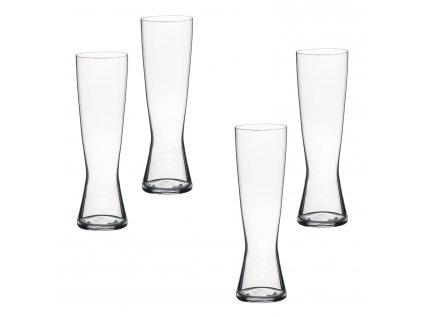 Beer Classics kristály söröspohár szett, 4 db, Pilsner