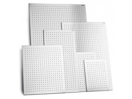 MURO perforált mágneses tábla 80 x 40 cm