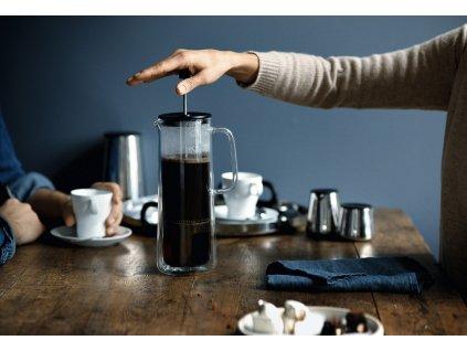 Coffe Time french press kávéfőző, duplafalú