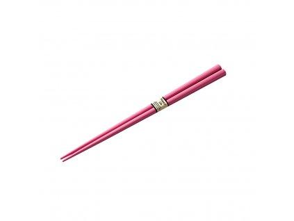 Chopsticks lakkozott evőpálcikák, rózsaszín