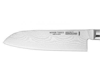 SANTOKU univerzális japán kés, 18 cm, 7000D