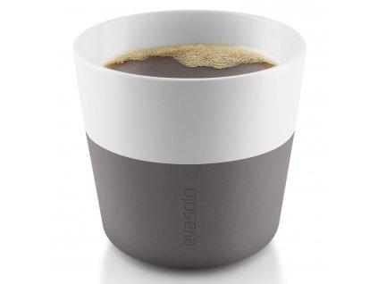 Lungo thermo kávéspoharak, 2 db, 230 ml, szürke