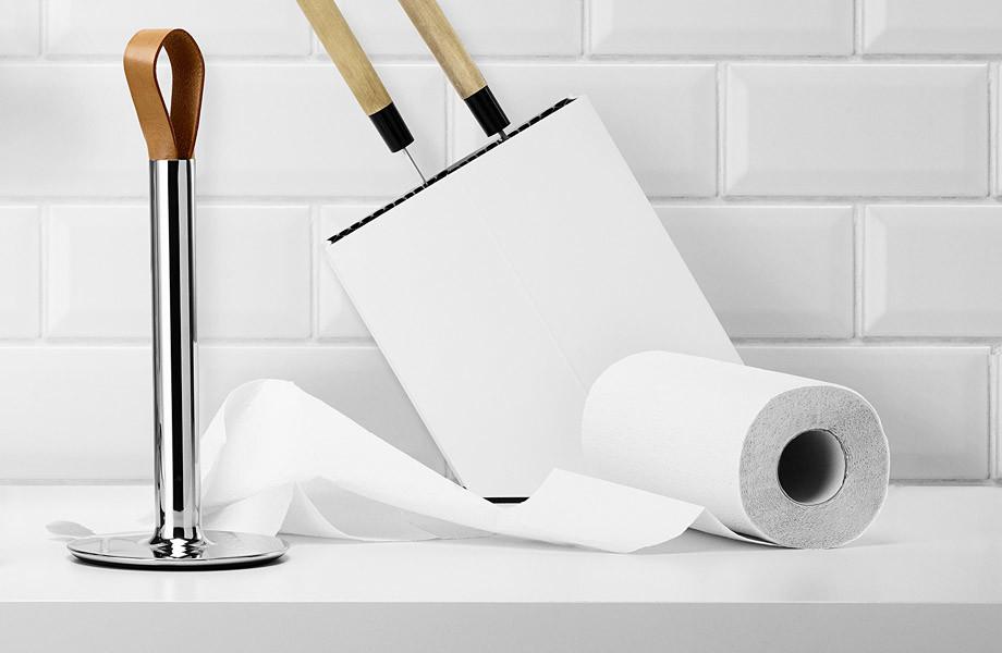 Uchwyty na ręczniki papierowe i folie