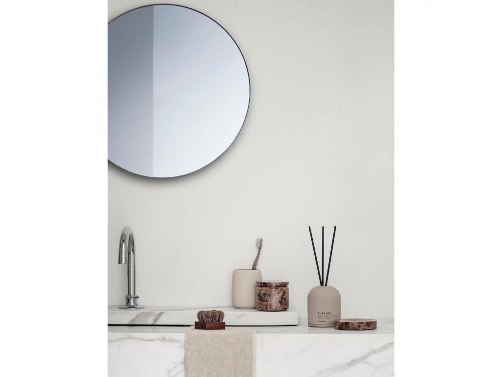 Okrągłe lustro RIM jasnobrązowe Blomus