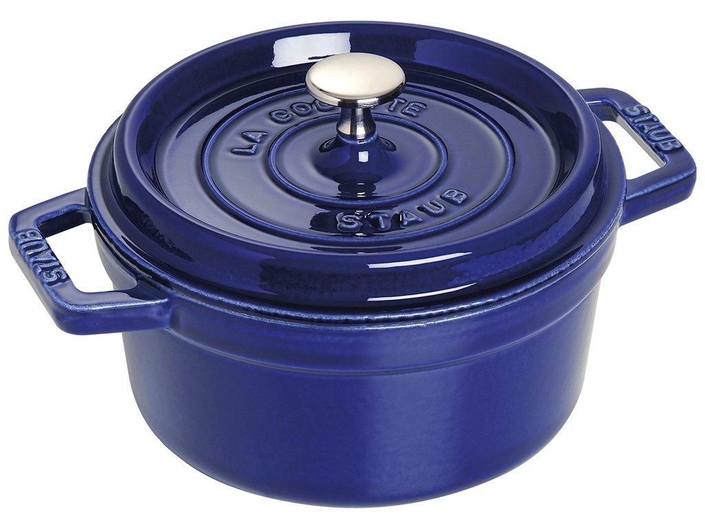 Garnek okrągły, ciemnoniebieski Ø 30 cm