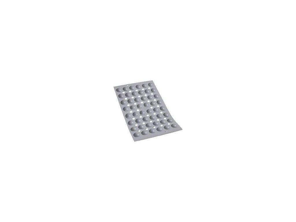 Profesjonalny silikon forma na 48 mini półkule Ø 2,5 cm Elastomoule® de Kupujący