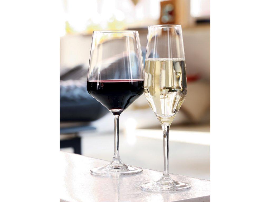 Zestaw 4 kieliszków 4 do szampana typu flute Style Spiegelau