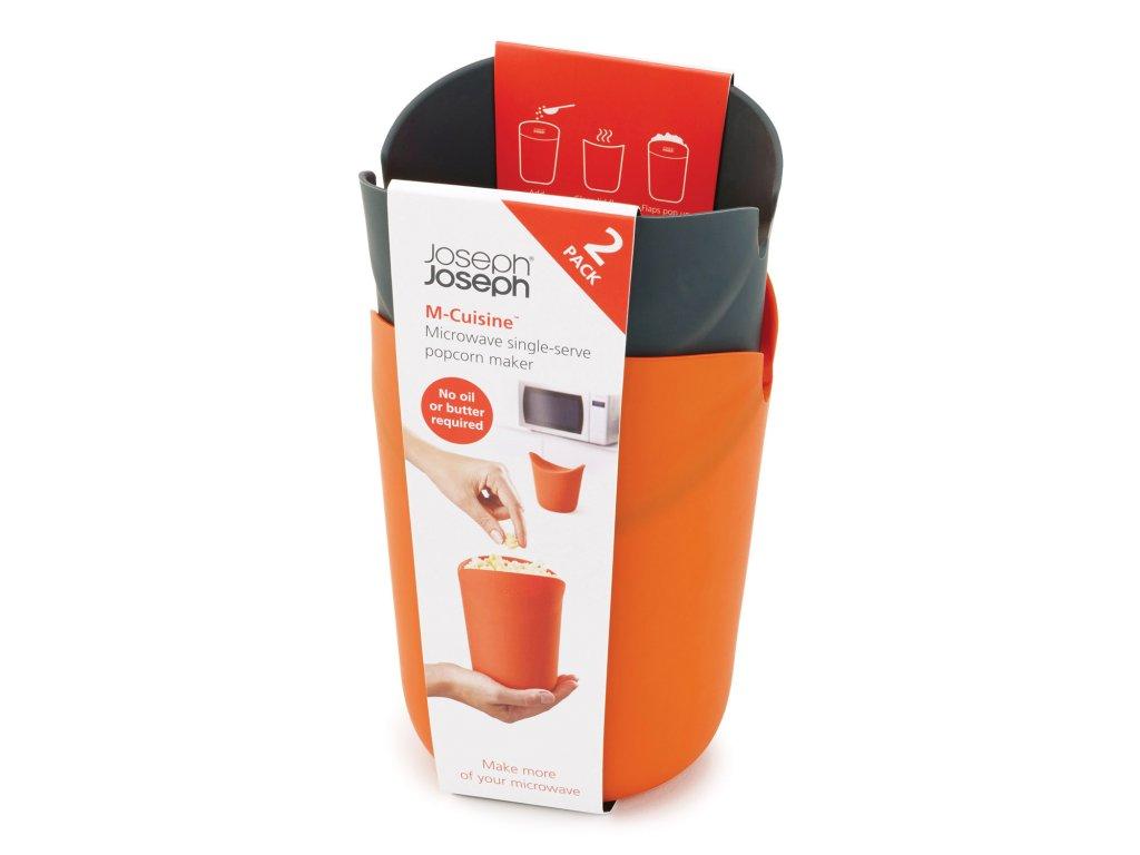 Zestaw indywidualnie pojemniki do przygotowania i serwis popcorn M-Cuisine™ Joseph Joseph