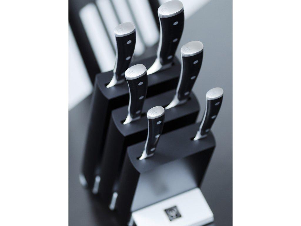 Zestaw noży z blokiem 7-częściowy Classic Ikon WÜSTHOF