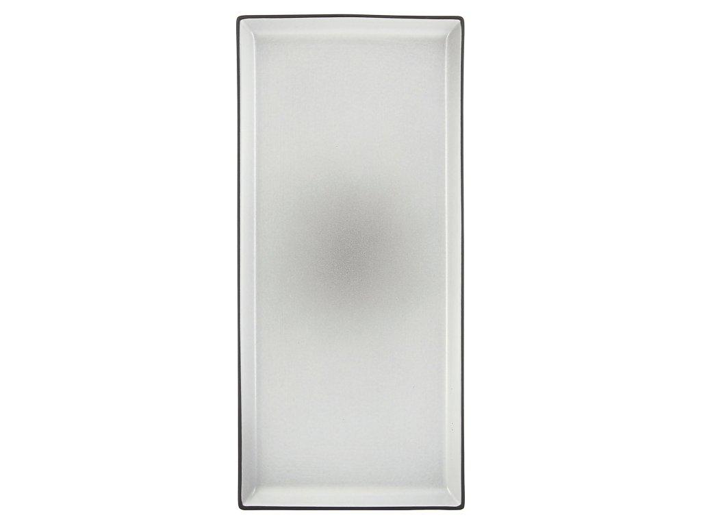 Płyta/taca 32,5 x 15 cm 32,5 15 pieprz biały Equinoxe REVOL