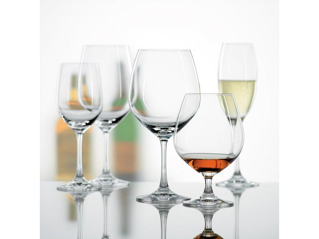 Zestaw 4 kieliszków 4 do szampana typu flute Wino Grande Spiegelau