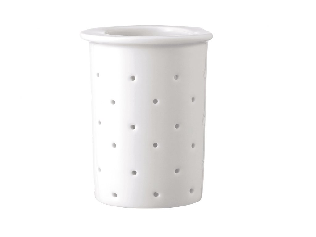 Sitko na herbatę sypaną Tac Rosenthal białe