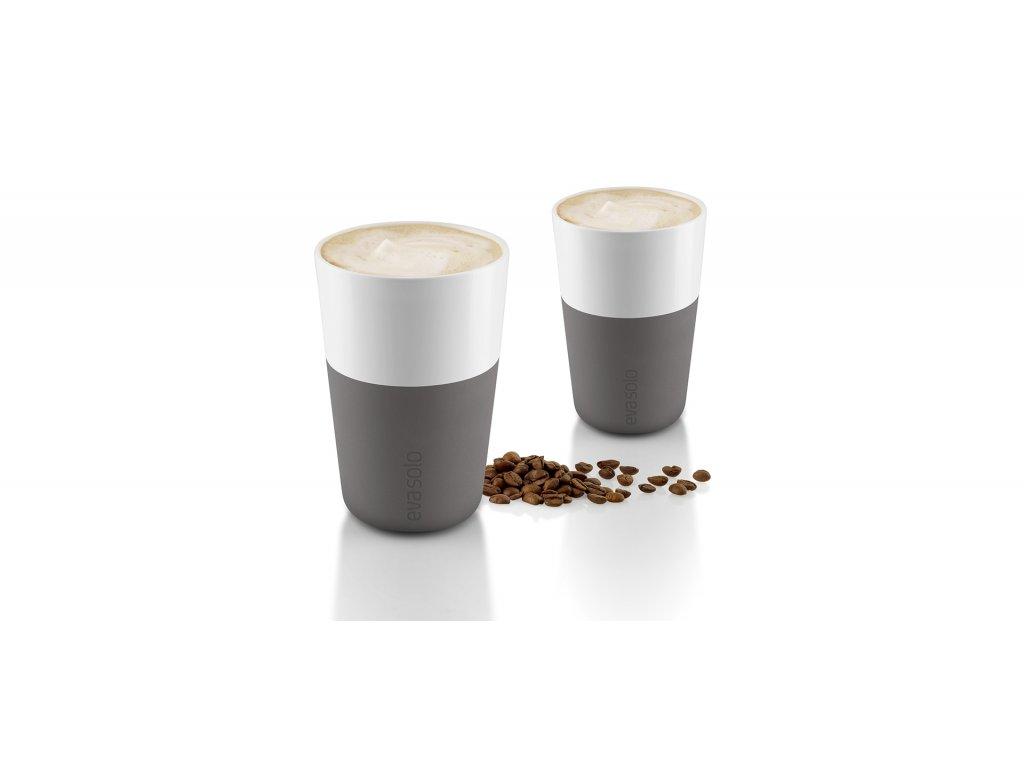 Kubki termiczne do café latte 360 ml 2 szt. szare Eva Solo