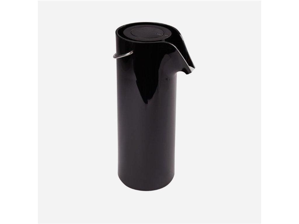 Kubek termiczny z podciśnieniem pompować 1,8 czarnoskóry Eva Solo