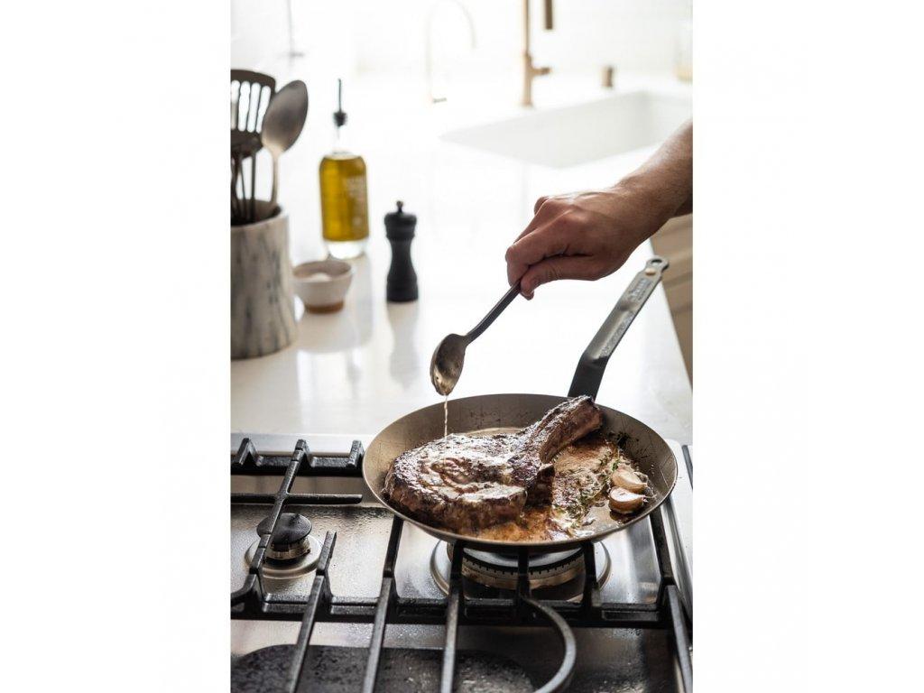 Stalowa patelnia dla steków Minerał B Element Ø 24 cm de Kupujący