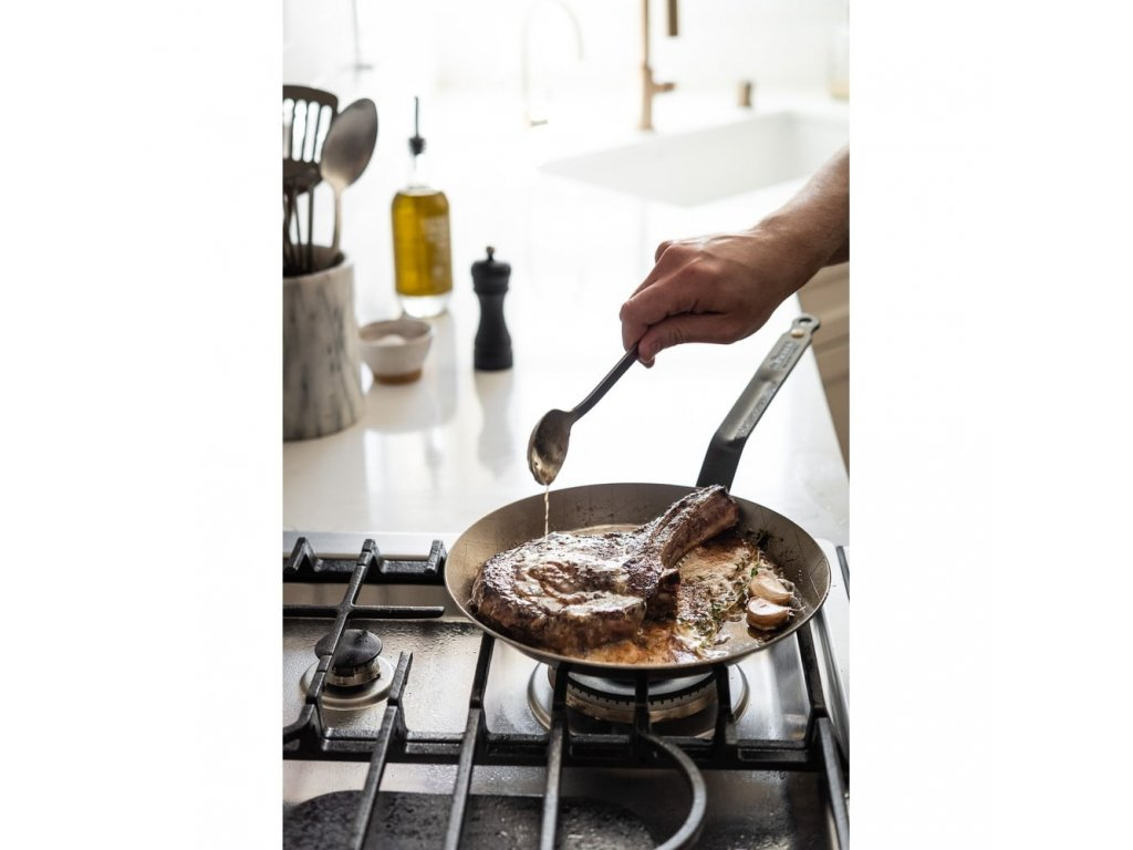 Stalowa patelnia do steków Minerał B Element Ø 24 cm de Buyer