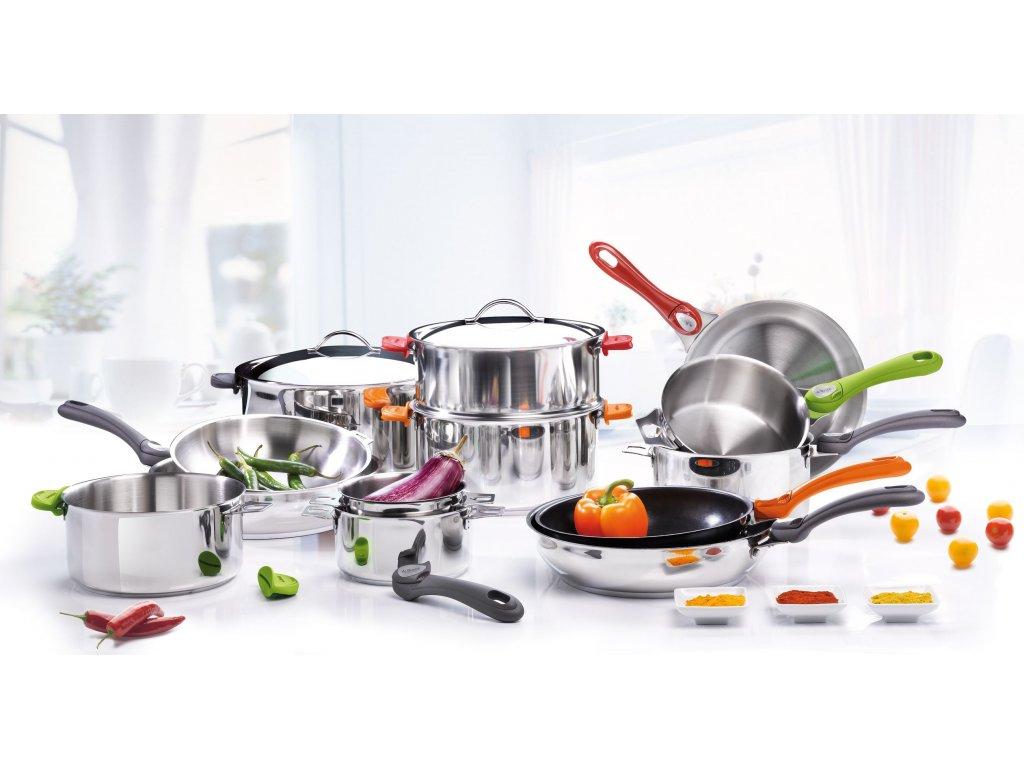 Uchwyt do patelni Choc EXTREME pomarańczowy