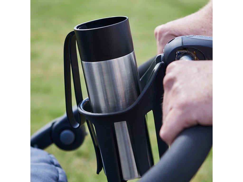 Kubek termiczny ze stali nierdzewnej To Go z żeglarskim niebieskim kapsel 0,35 l 0,35 Eva Solo